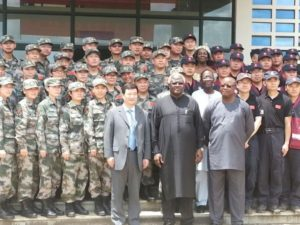 chinese military ebola staff
