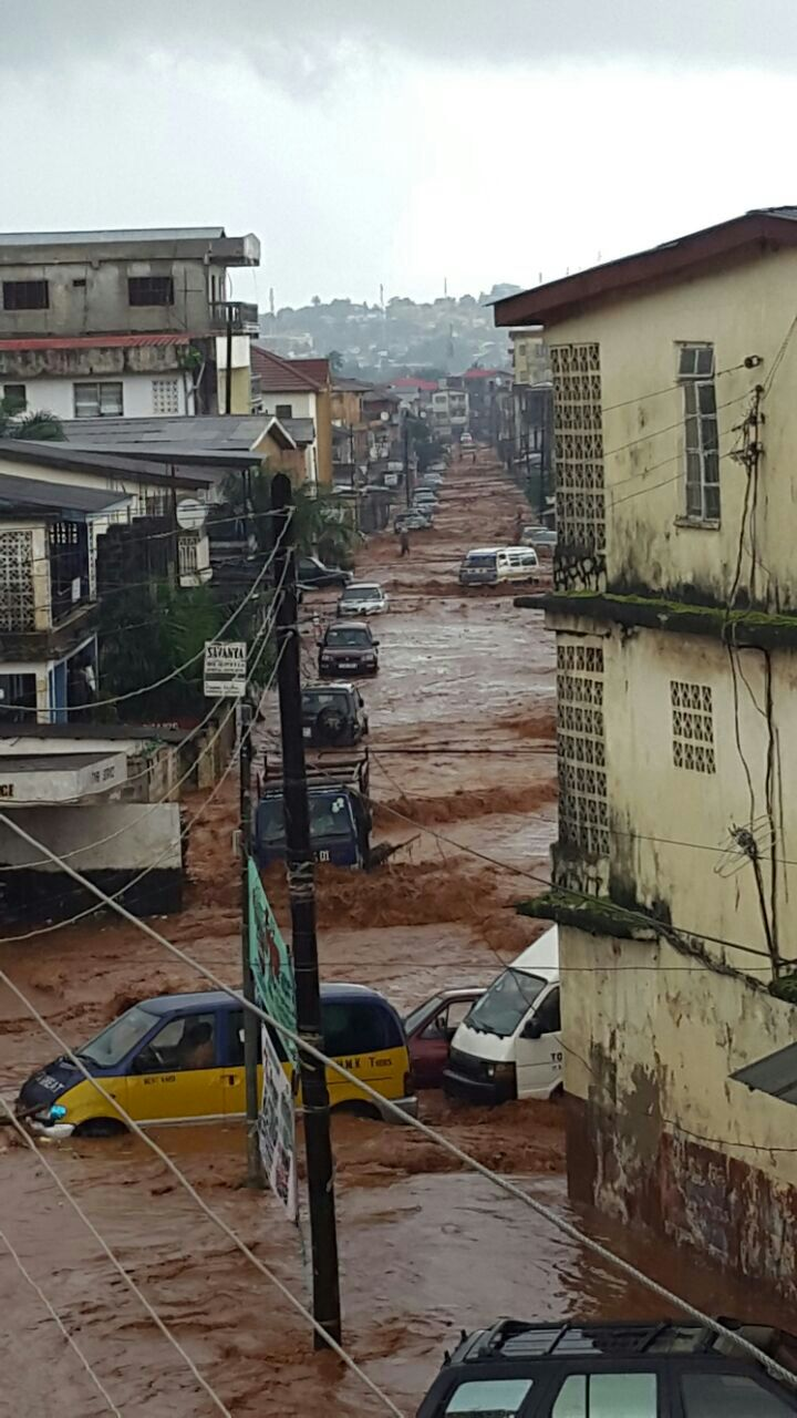 rainy freetown