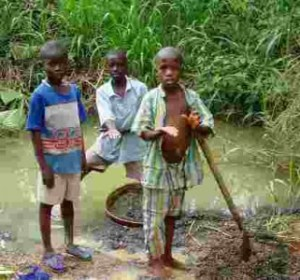 salone industry - child mining