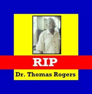 Dr Thomas Rogers