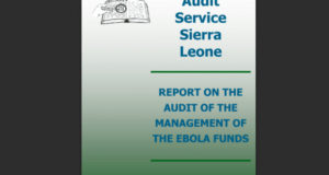Ebola Audit Report Sierra Leone
