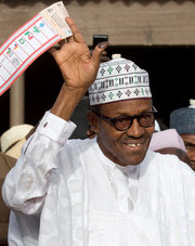 Buhari wins1 - AFP