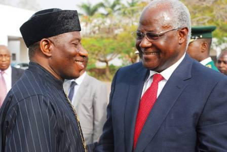 Nigeria - Goodluck and presiednt koroma - 2012