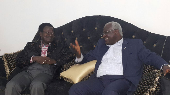 president koroma and victor foh