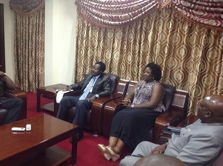 VP Foh receives kono delegation 1
