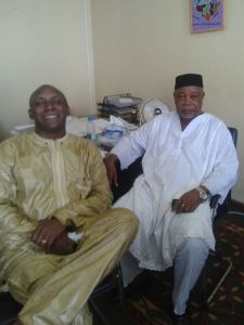 Yumkella and SLPP chairman Kapen