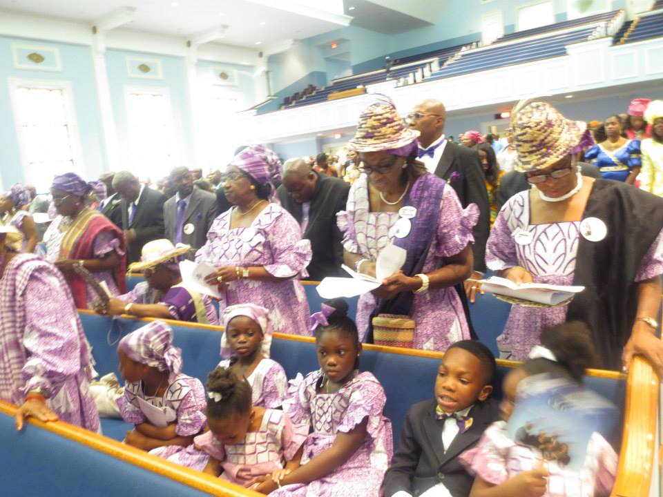 Members of KDU Congregate