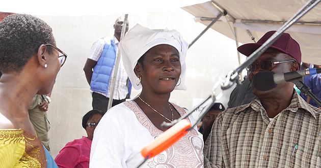 Adama Sankoh - Ebola survivor sierra-leone