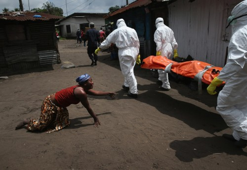 Ebola – Weep Not Mother