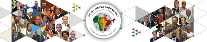 India Africa summit logo