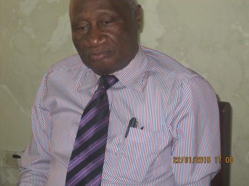 IMC chairman Alieu kanu