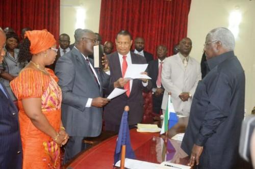 Joseph kamara - new attorney general