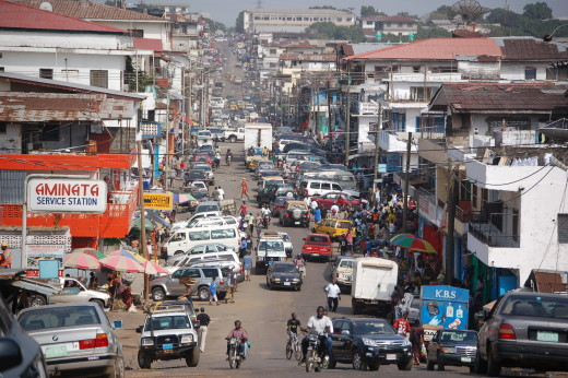 Liberia - DowntownMonrovia