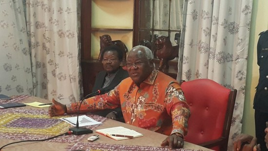 President Koroma and Vice president Foh - Dec 2015
