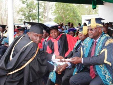 Presidential Koroma at University convocation
