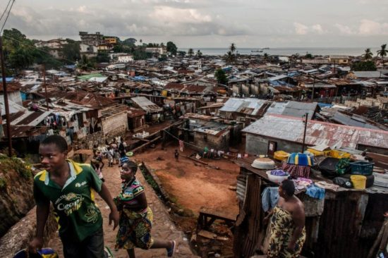 Freetown Poverty - Courtesy of National Geographic