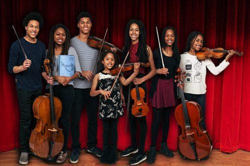 Talented Kanneh-Mason family
