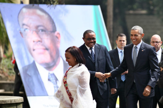 Obama in Ethiopia