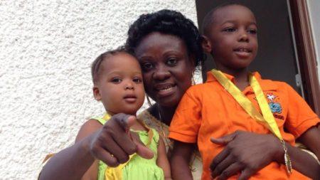 Minister of childrens affairs – Dr Sylvia Blyden