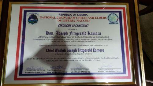 Joseph kamara in Liberia3