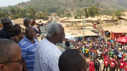 President Koroma in Kabala - Dec 2015