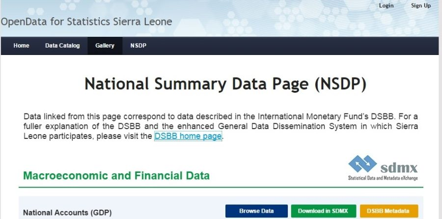 Open Data for Statistics Sierra Leone2