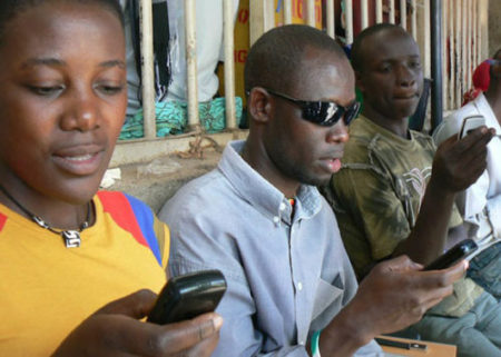 mobile phone use in Africa 2