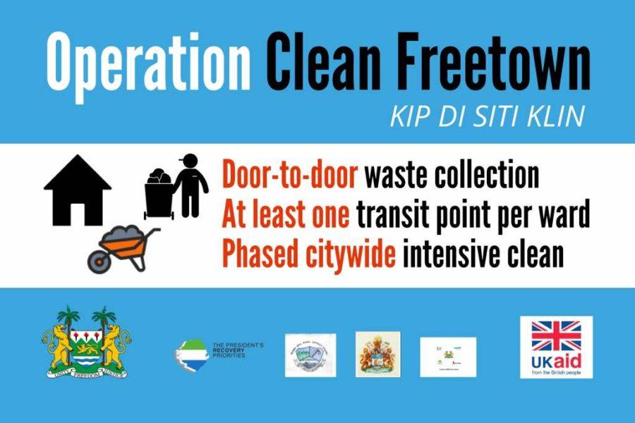 keep Freetown clean