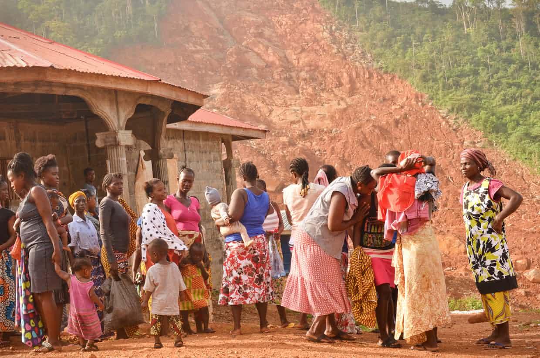 victims of Sierra Leone mudslide