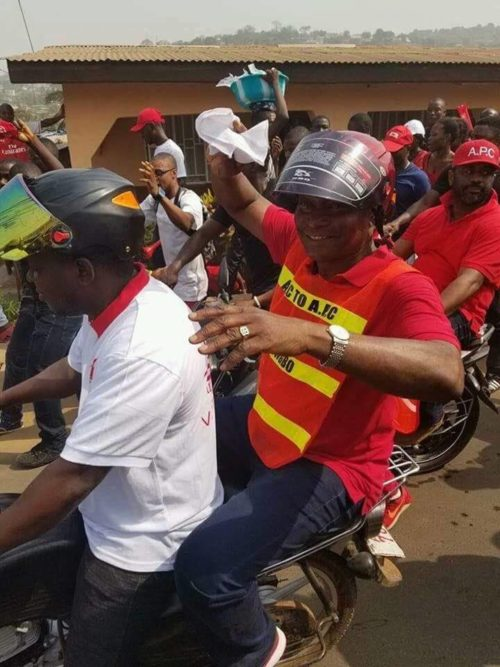 APC election violence – samura kamara