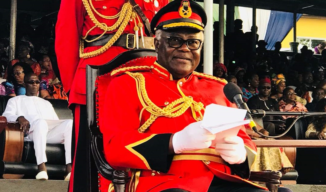 President koroma at armed forces day – 18 feb 2018 -2