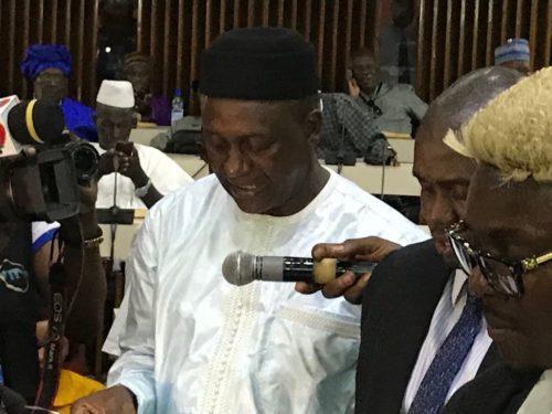 Yumkella and NGC in parliament 1