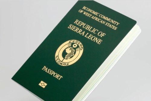 Sierra leone passport