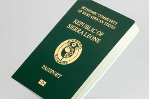 Sierra leone passport