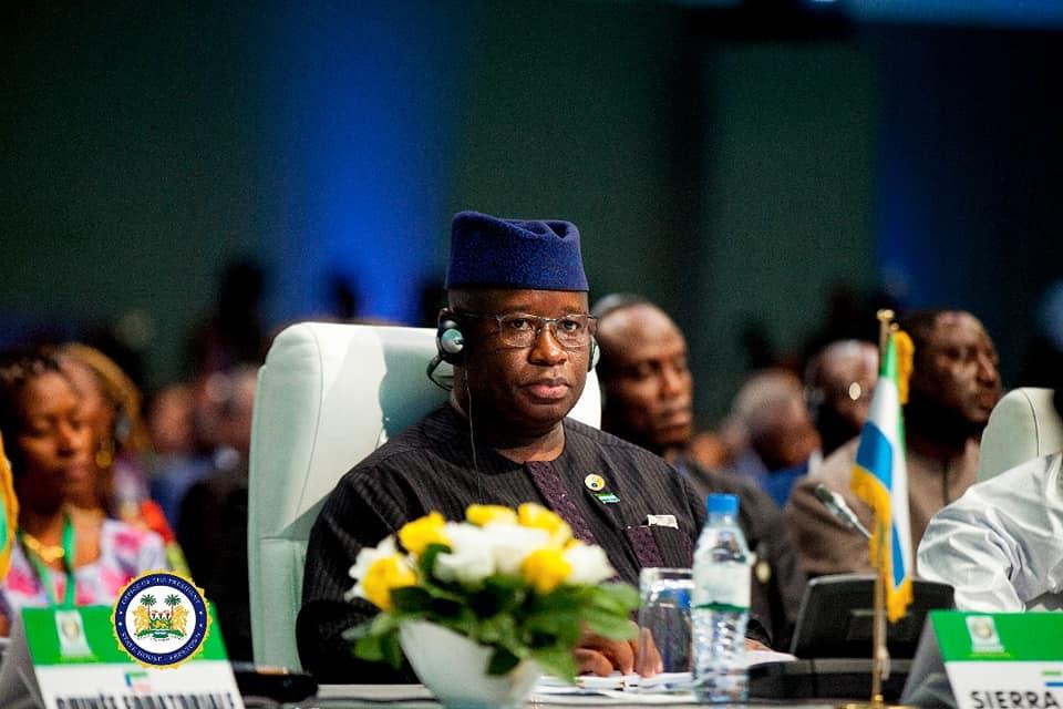 president Bio and regional leaders at 53rd ECOWAS summit.jpg2