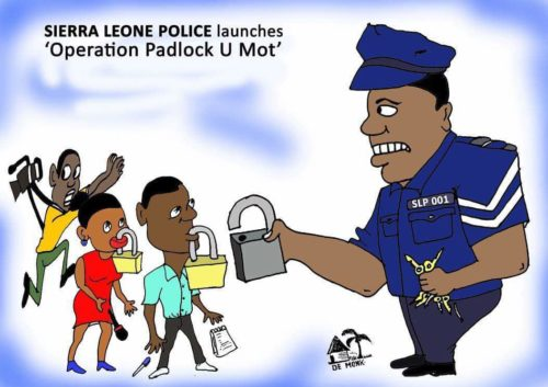 sierra leone police and freedom of speech