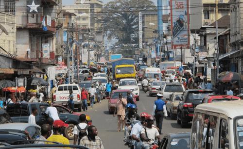 traffic in freetown222