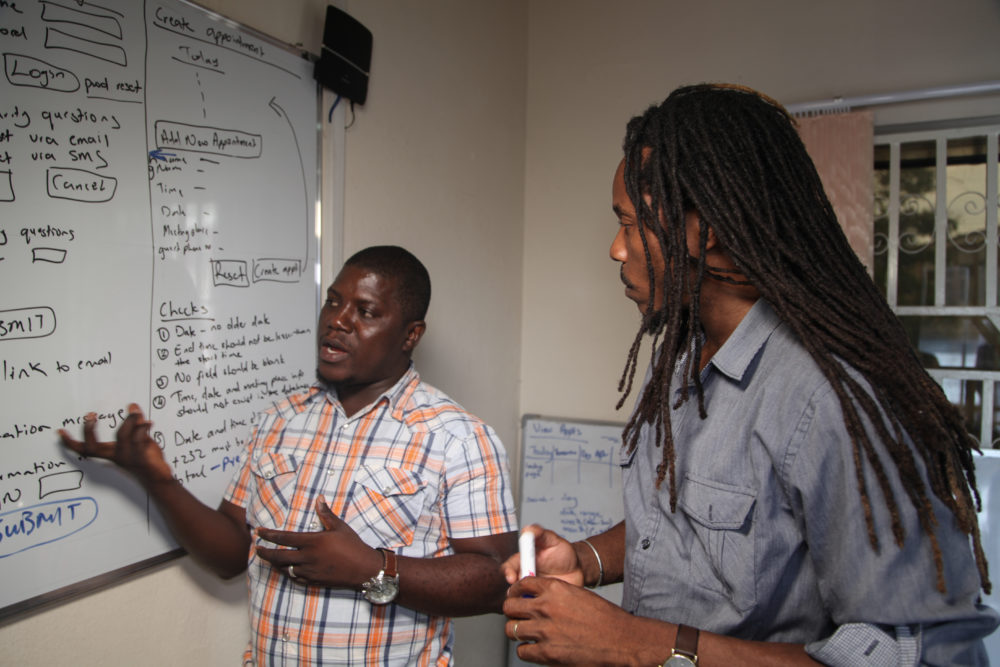 Dr Sengeh and team uses coding to fight corruption