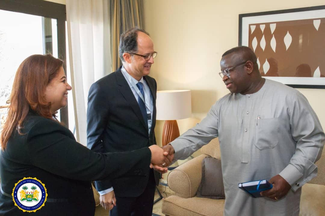 president Bio meeting Elsewedy in Sharm El Sheikh 4