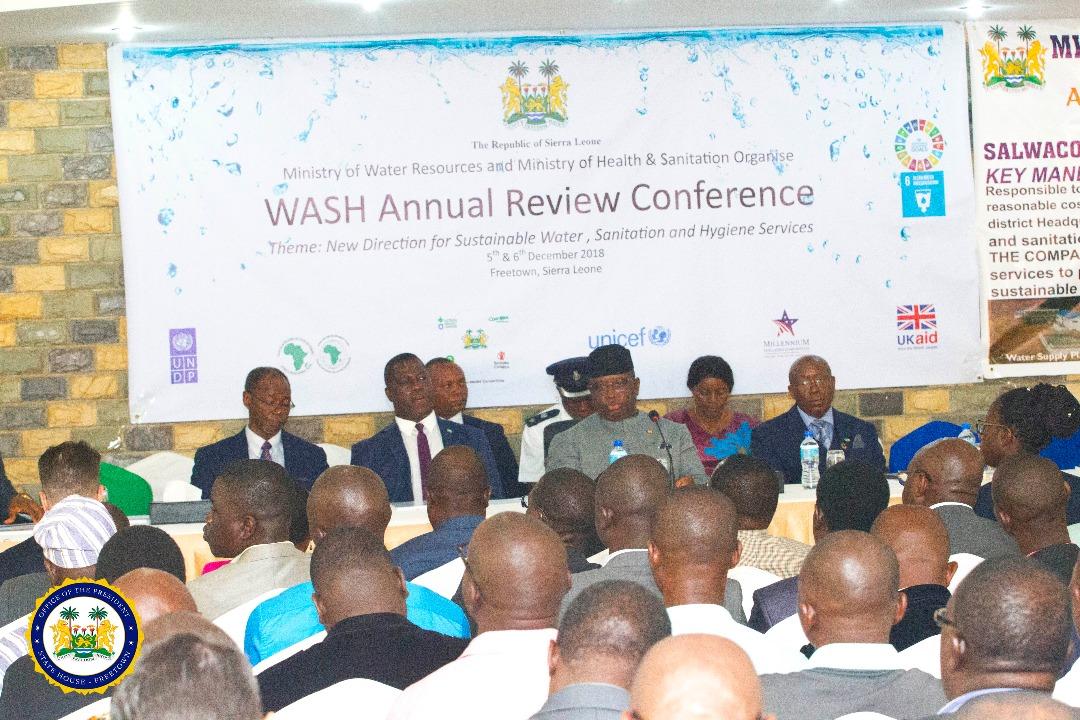president Bio speaks at WASH1