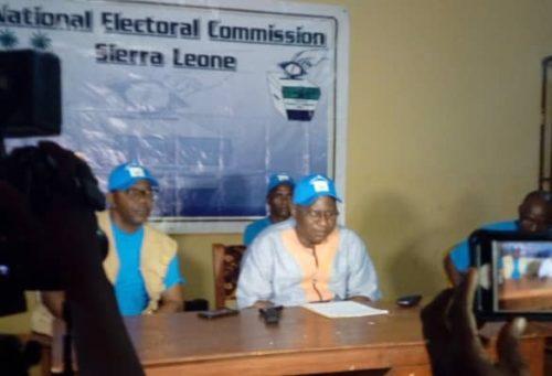 Tonkoh limba chiefdom bye election