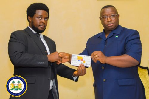 ACC hands second cheque to president Bio – 2