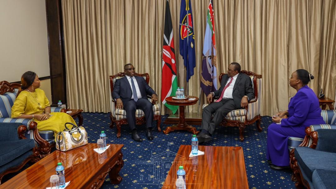 president Bio in kenya 3