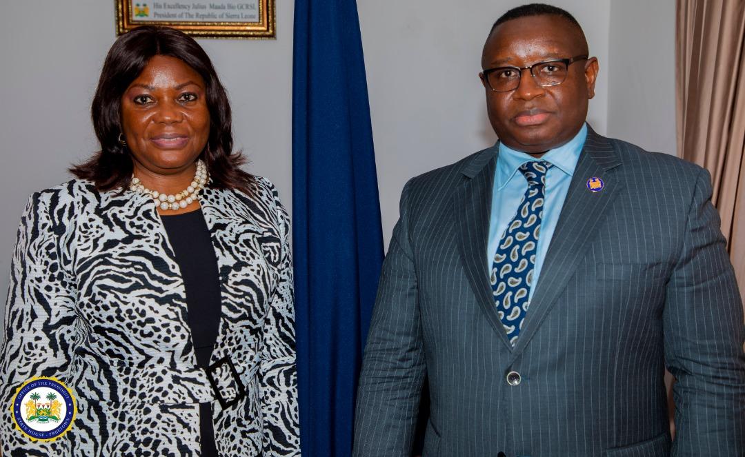 IMF Dr Marsha leaves Sierra Leone 1
