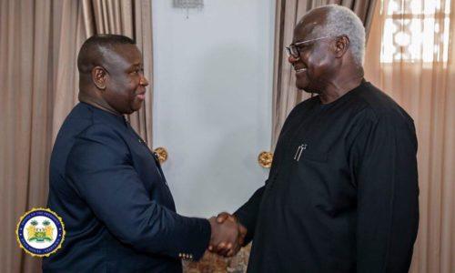 president Bio meets APC leadership 2
