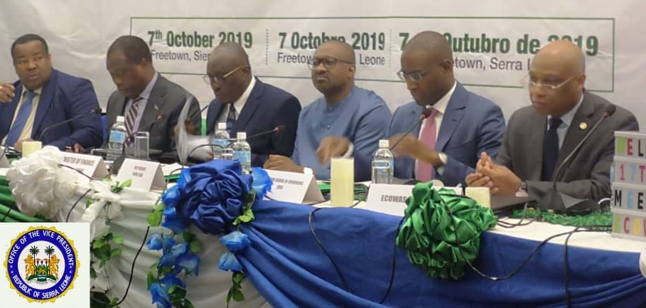 Vice president Jalloh at ecowas bank meeting 3