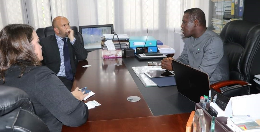 chief minister Francis meets British High Commissioner Mustard and Head of DfId