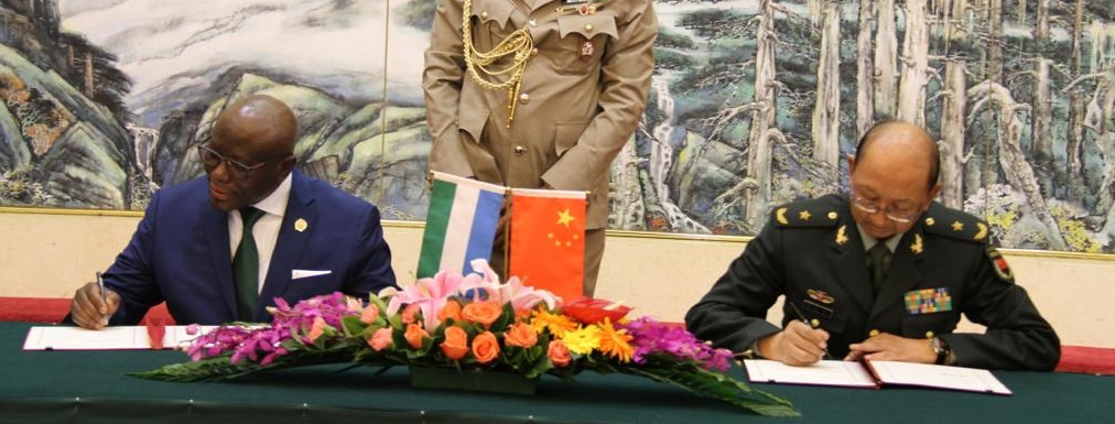 China to supply $7million military hardware to Sierra Leone22