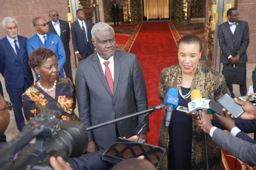 commonwealth and AU joint peace mission to cameroon