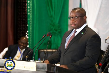 President Bio warns against bad governance and corruption 1